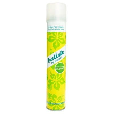 Batiste Dry Shampoo Tropical 400ml