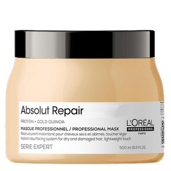L'Oréal Professionnel Absolut Repair Gold Quinoa + Protein Masque 500ml