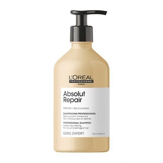 L'Oreal Professionnel Absolut Repair Gold Quinoa + Protein Shampoo 500ml