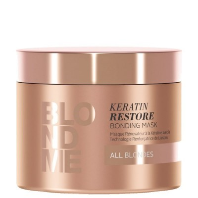 Schwarzkopf Professional BlondMe Keratin Restore Bonding Mask 200ml (Όλα τα Ξανθά)